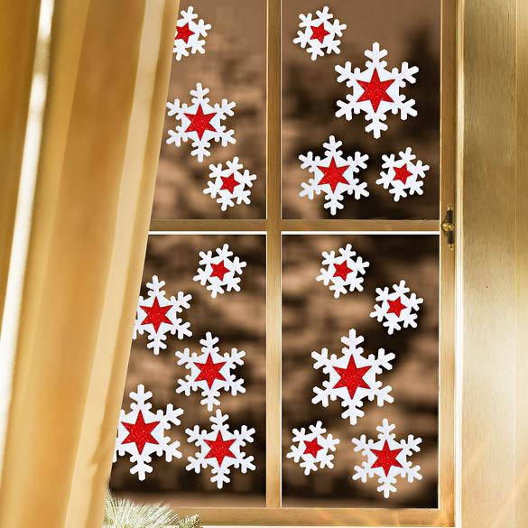 """18 Fensterbilder """"Eiskristalle"""""""