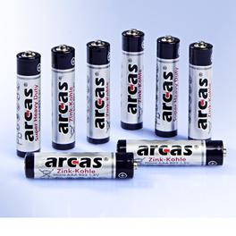 8 AAA Mikro-Batterien