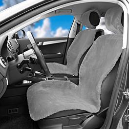 Autositzbezug grau