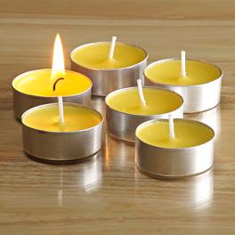 Citronella-Teelichter, 6er-Set