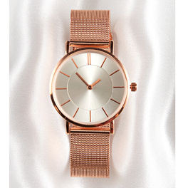 Damen-Armbanduhr rosé-gold