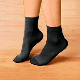 Diabetiker-Socken schwarz, 5 Paar