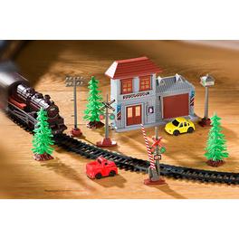 Eisenbahn-Zubehör 10-tlg.
