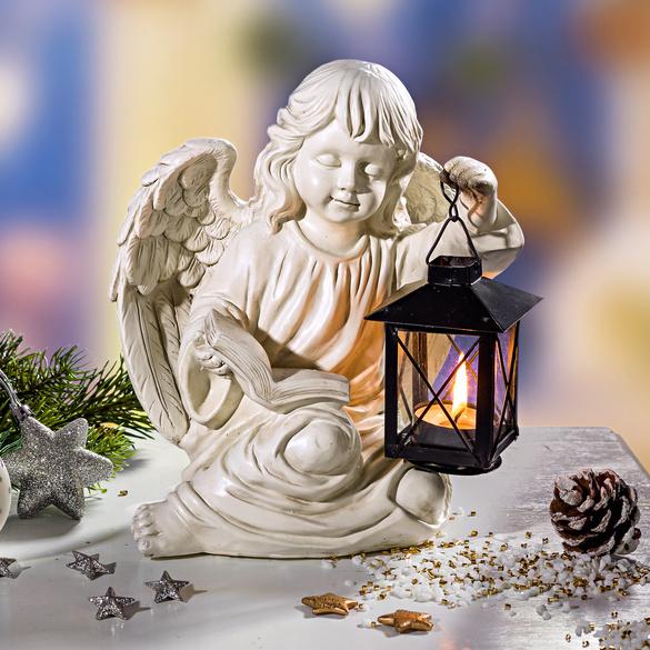 Engel mit Laterne