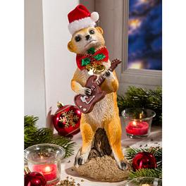 Erdmännchen mit Gitarre