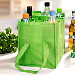 Flaschentragetasche grün