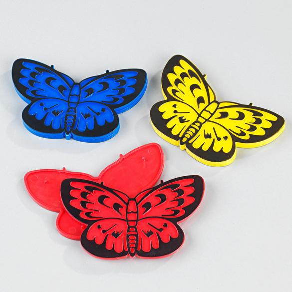 """Fliegengitter-Reparaturset """"Schmetterlinge"""", 6er-Set"""