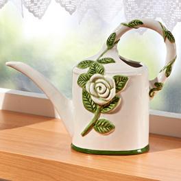 """Gießkanne """"Weiße Rosen"""""""