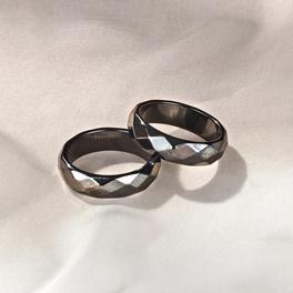 Hämatit-Ring, 20 mm