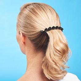 """Haarspange """"Welle"""" schwarz"""