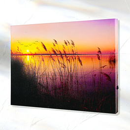 "LED-Bild ""Abendsonne"""