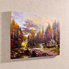 """LED-Bild """"Landschaft"""""""