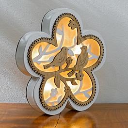 """LED-Blume """"Vogelpaar"""""""