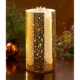 LED-Brunnenkerze goldfarben