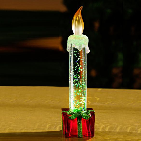 LED-Kerze rot
