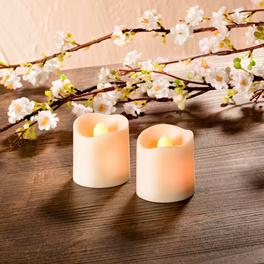 LED-Kerzen 2er-Set