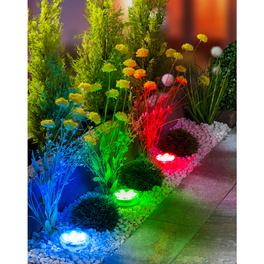 LED-Lampen + Fernbedienung, 4-tlg.
