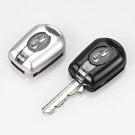 LED-Schlüssellichter schwarz/silber, 2er-Set