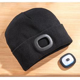 Mütze mit LED-Licht