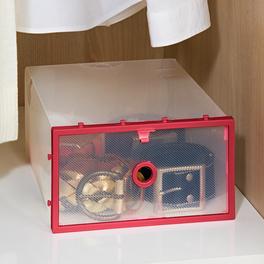 Ordnungsbox klappbar rot