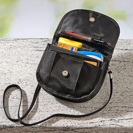 Reisetasche ultraleicht schwarz