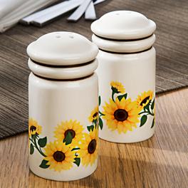 """Salz- und Pfefferstreuer """"Sonnenblumen"""", 2er-Set"""