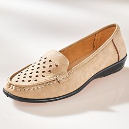 "Schuh ""Elise"" beige"