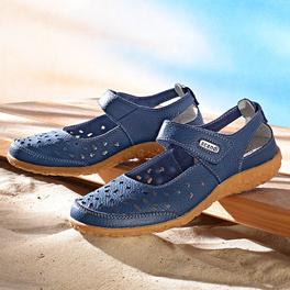 "Schuh ""Kim"" blau"