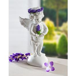 Schutzengel mit Gedicht, lila