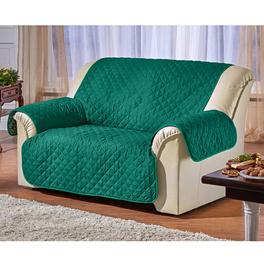 Sofaüberwurf 3-Sitzer grün