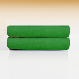 Spannbettlaken grün, 2er-Set