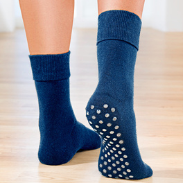 Stopper-Socken dunkelblau