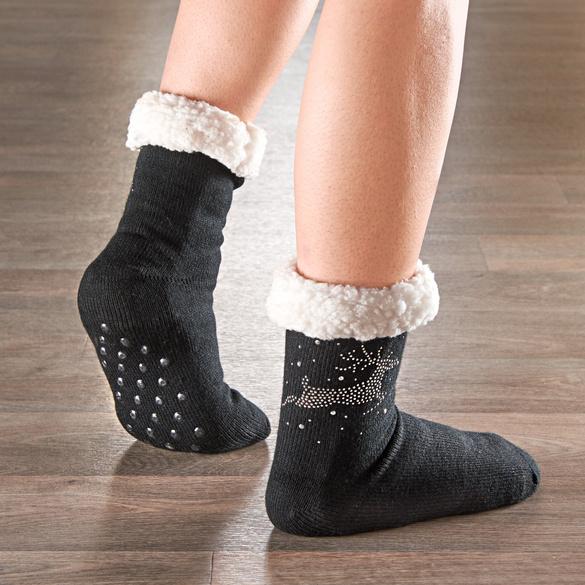 Stopper-Socken schwarz