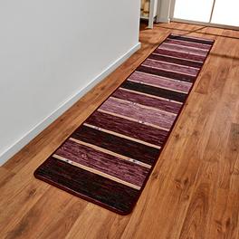 Teppich bordeaux, 50 x 250 cm