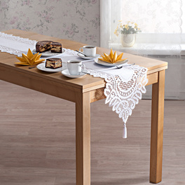 Tischläufer weiß