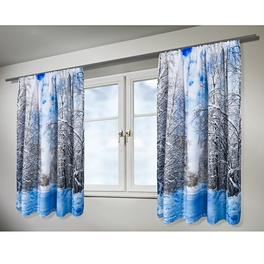 """Vorhang """"Winter"""", 175 x 140 cm"""