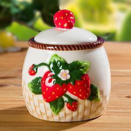"""Zuckerdose """"Erdbeeren"""""""