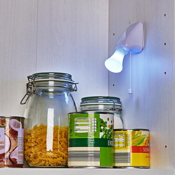 4er-Set LED-Lampen, kabellos