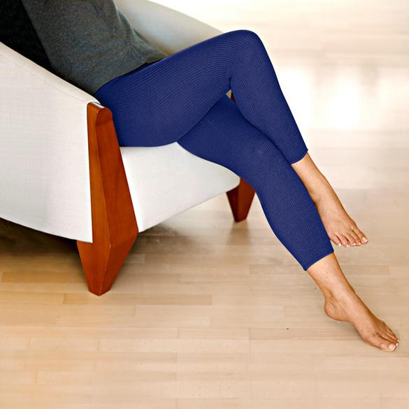 Beinwärmer blau