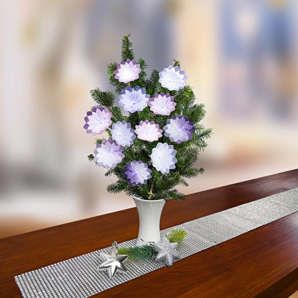 Tischband silber