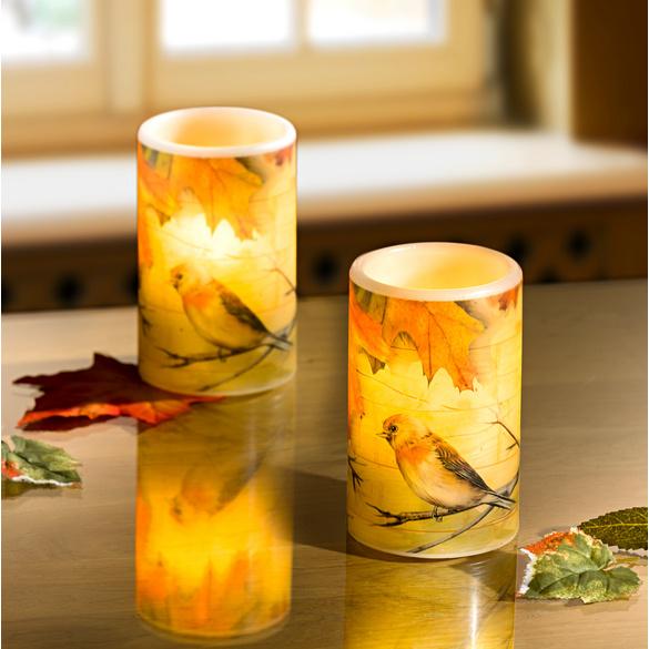 """LED Kerze """"Herbst"""""""
