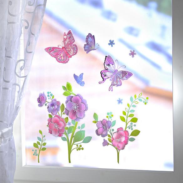 """Fensterbilder """"Frühling"""", 10-tlg."""