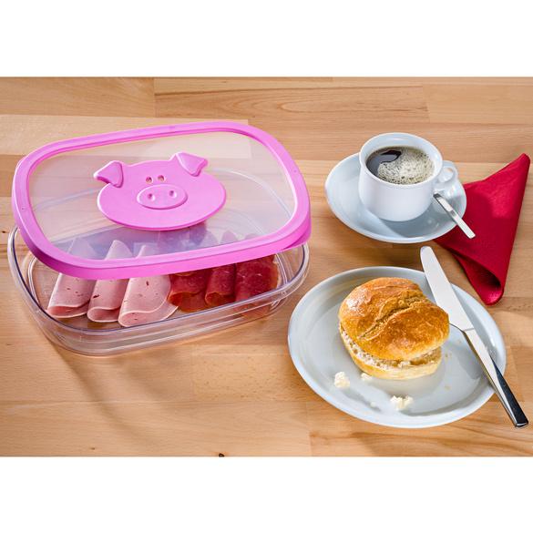 """Frischhaltebox """"Schweinchen Will"""""""