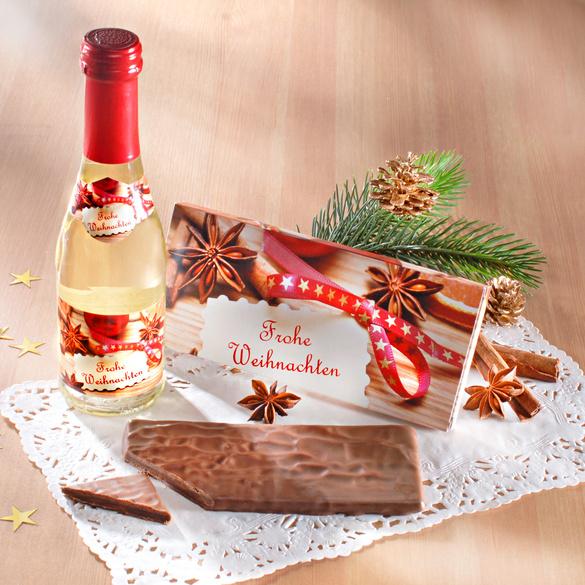 "Festtags-Set ""Sekt & Schokolade"", 2-tlg."