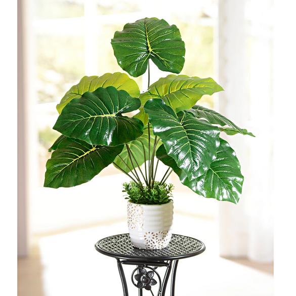 Kunstpflanze im Topf