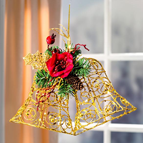 """Weihnachtsglocken mit Amaryllis"""""""