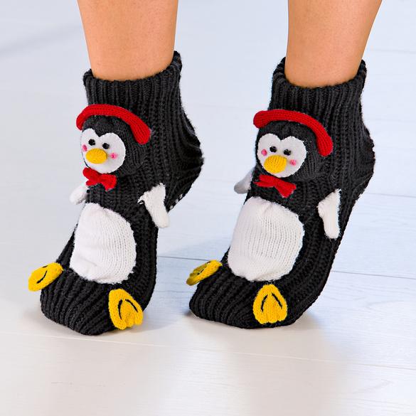 """Stopper-Socken """"Pinguin"""""""