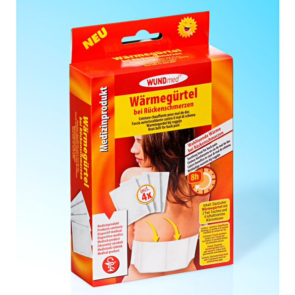 Wärmegürtel + 4 Wärmekissen