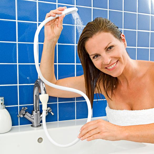 Waschbeckendusche