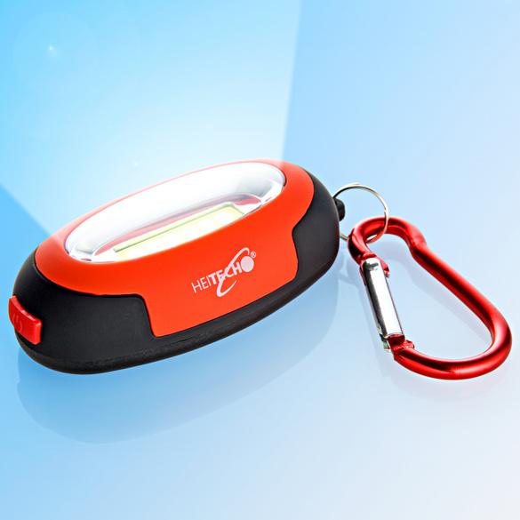 Mini-Taschenlampe mit Schlüsselring